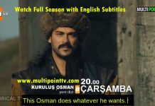 Kurulus Osman first episode with english subtitles