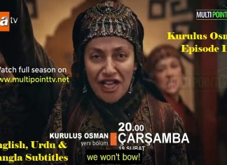 Kurulus Osman Season 1 Episode 11 (11 Bolum) with English, Urdu & Bangla Subtitles Free