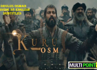 Kurulus Osman Episode 28 (28 Bolum) with English, Urdu & Arabic Subtitles Free