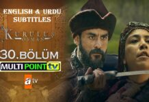 Watch Kurulus Osman Episode 30 (30 Bolum) with English & Urdu Subtitles Free of Cost