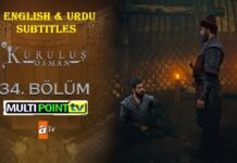 Watch Kurulus Osman Episode 34 (34 Bolum) with English & Urdu Subtitles Free of Cost