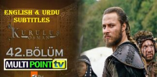 Watch Kurulus Osman Episode 42 (42 Bolum) with English & Urdu Subtitles Free of Cost