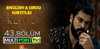 Kurulus Osman Episode 39 English & Urdu Subtitles Free
