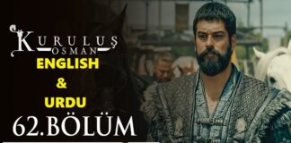 Watch Kurulus Osman Episode 62 (62 Bolum) with English & Urdu Subtitles Free of Cost